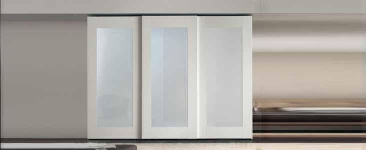 Cabinet Door and Window