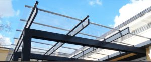 Glass roofing sheets