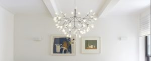 Pleasant Plastic - Designer Heracleum Chandelier Acrylic Light Fixture