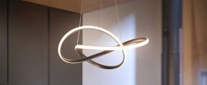 Pleasant Plastic - Modern Acrylic Chandeliers Aluminum Pendant Lights with Rings