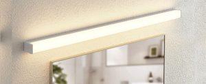 Pleasant Plastic -Waterproof Modern Cosmetic Acrylic Wall Lamp