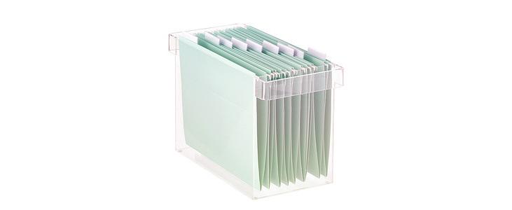 Acrylic file holders - Pleasant Plastic